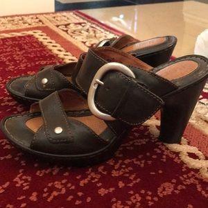 Born Black Heels